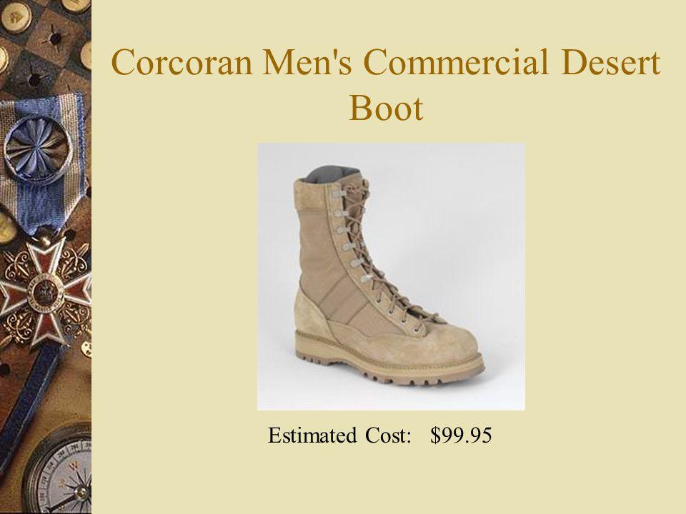Corcoran Men s Commercial Desert Boot Estimated Cost: $99.95