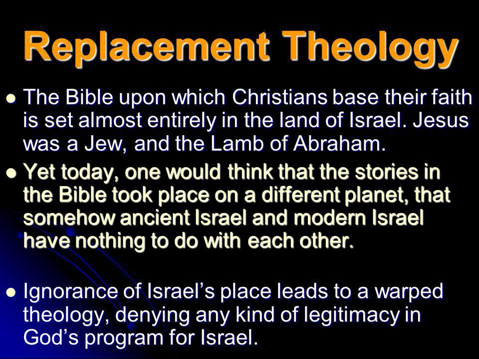 The Promised Land The Promised Land ( promised to whom,… by whom? ) Anyone vaguely familiar with the covenants between God and Israel should understan