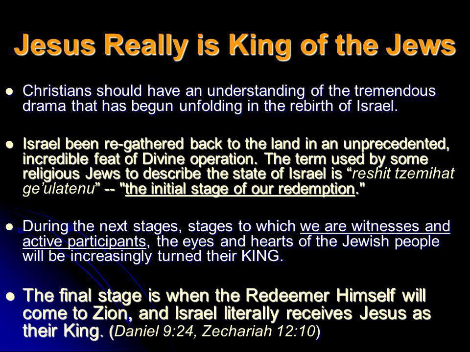 God Promised to Restore Israel The culmination of Gods redemptive plan will only occur in conjunction with the spiritual restoration and rejuvenation