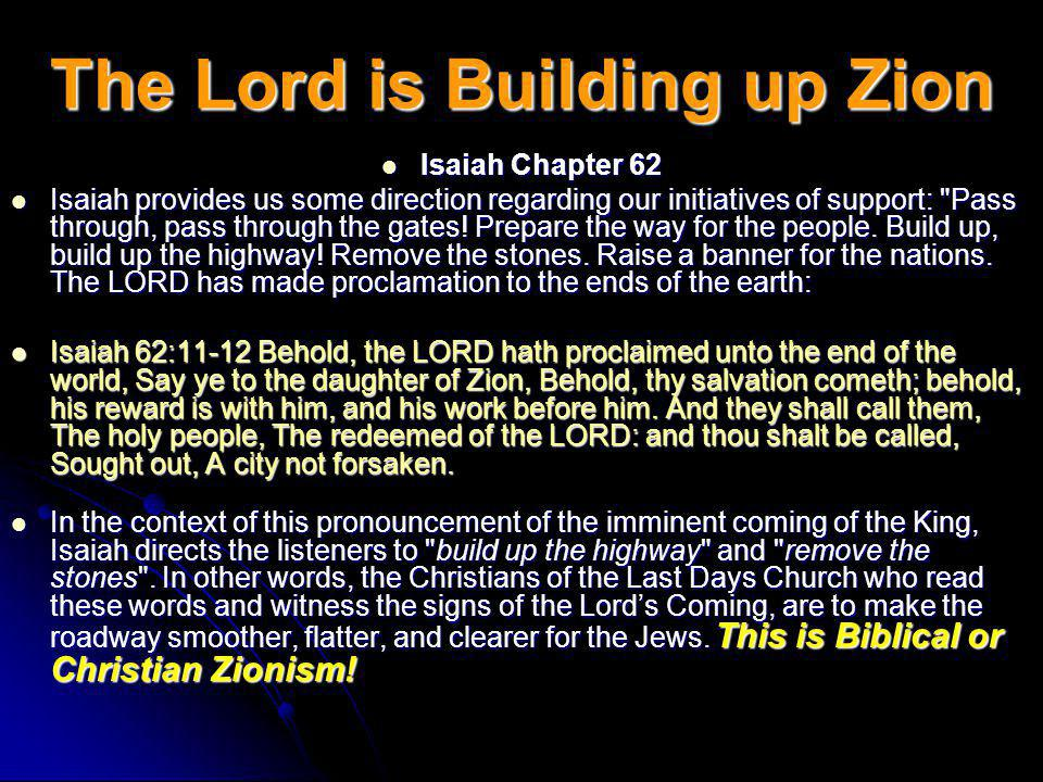 Jesus Really is King of the Jews Christians should have an understanding of the tremendous drama that has begun unfolding in the rebirth of Israel. Ch