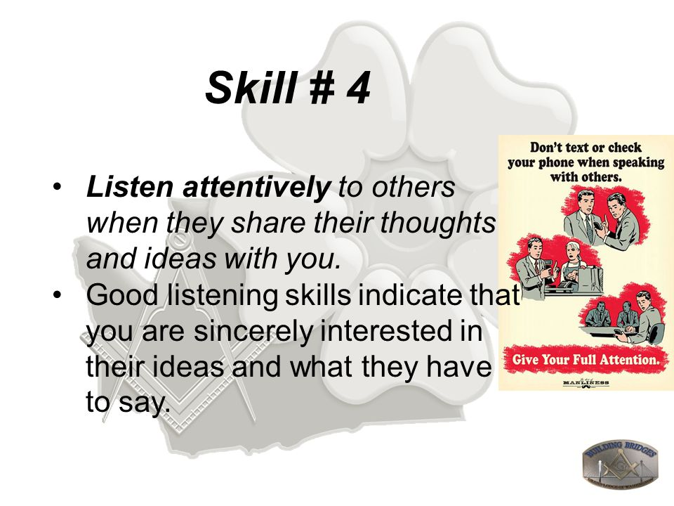 Skill # 22 Demonstrate unquestioned patience at all times and then wait a few minutes more...