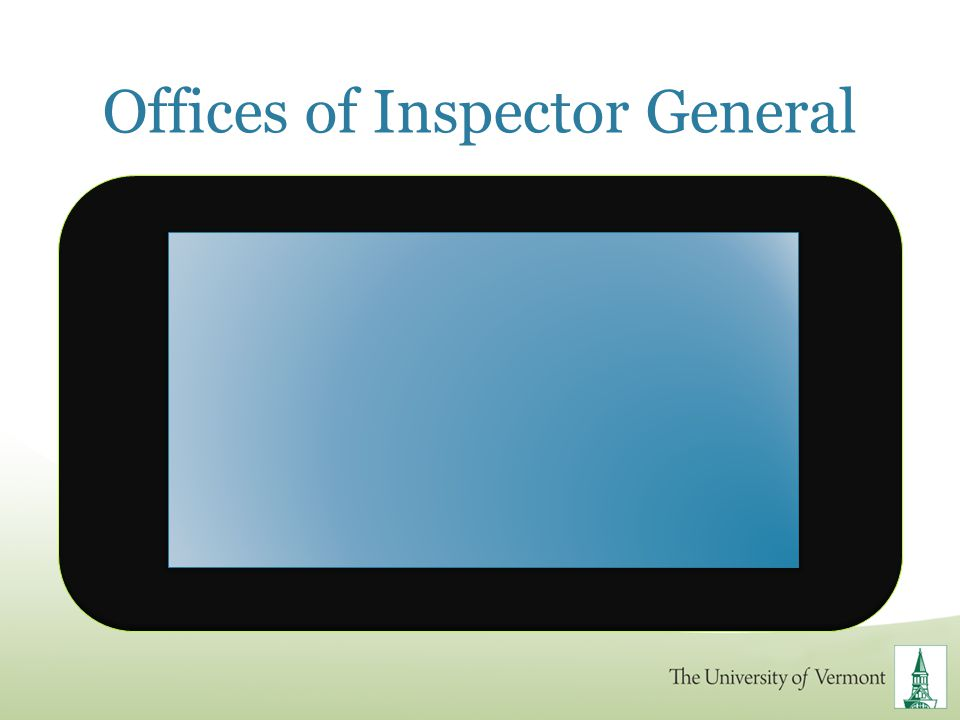 Offices of Inspector General