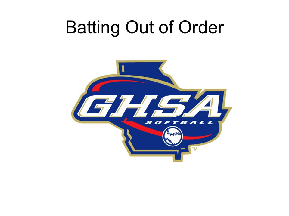 Use NFHS Rule 7 - Position and Batting Order Each example starts at the top of the order Review each example carefully Each example starts with no outs The umpire DOES NOT inform the coach if a batter is batting out of order.