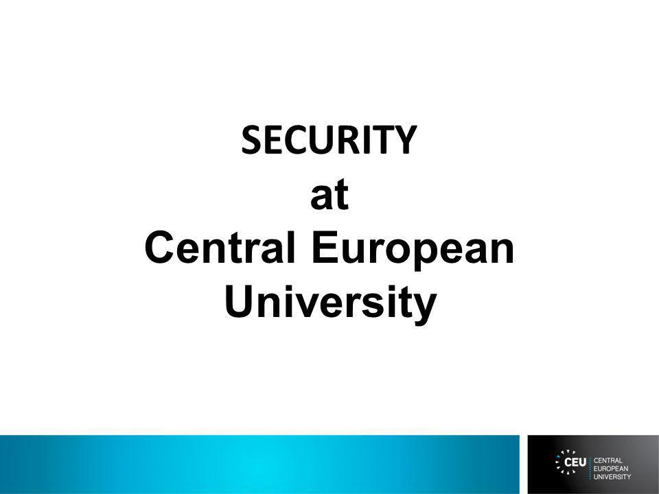 SECURITY at Central European University