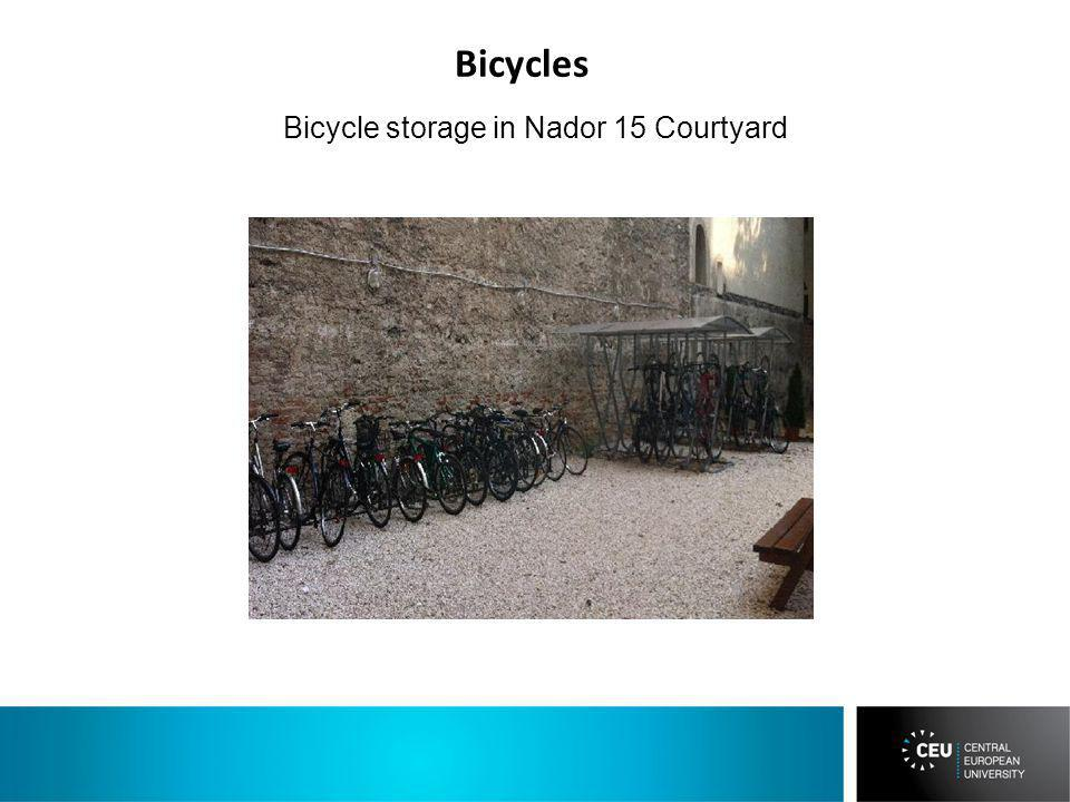 Bicycle storage in Nador 15 Courtyard Bicycles