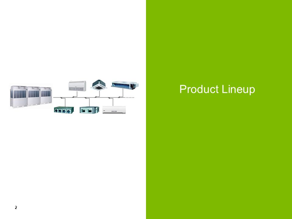 2 Product Lineup