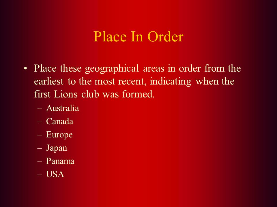 Click through the slides to view the questions and then the answers. This series of slides will give you a history of where we came from. (Use your sp