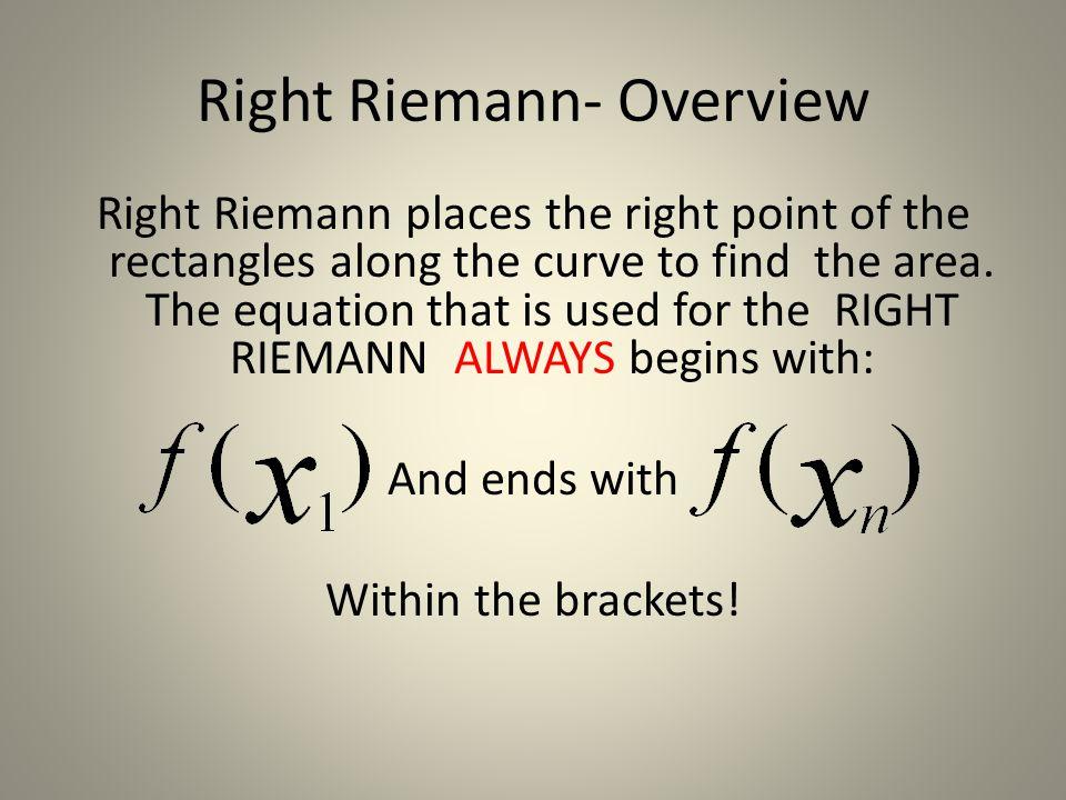 Left Riemann- TRY ME! Volunteer:___________ 3 Partitions