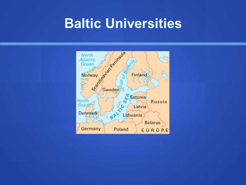 Baltic Universities
