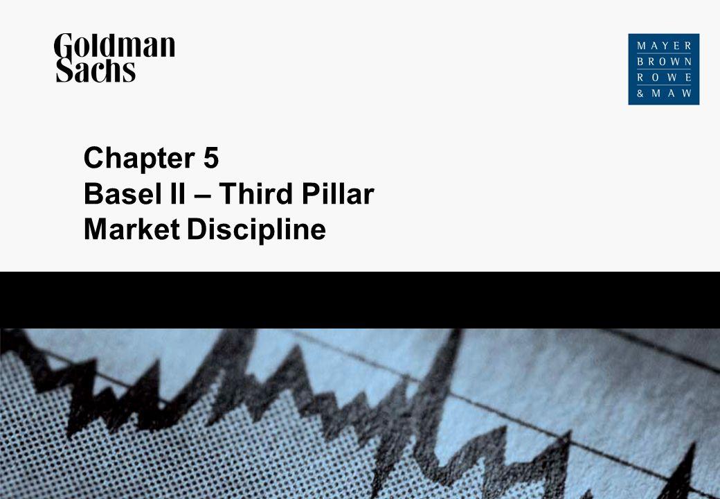 Chapter 5 Basel II – Third Pillar Market Discipline