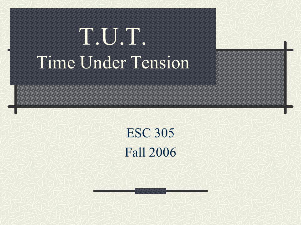 Defining T.U.T.