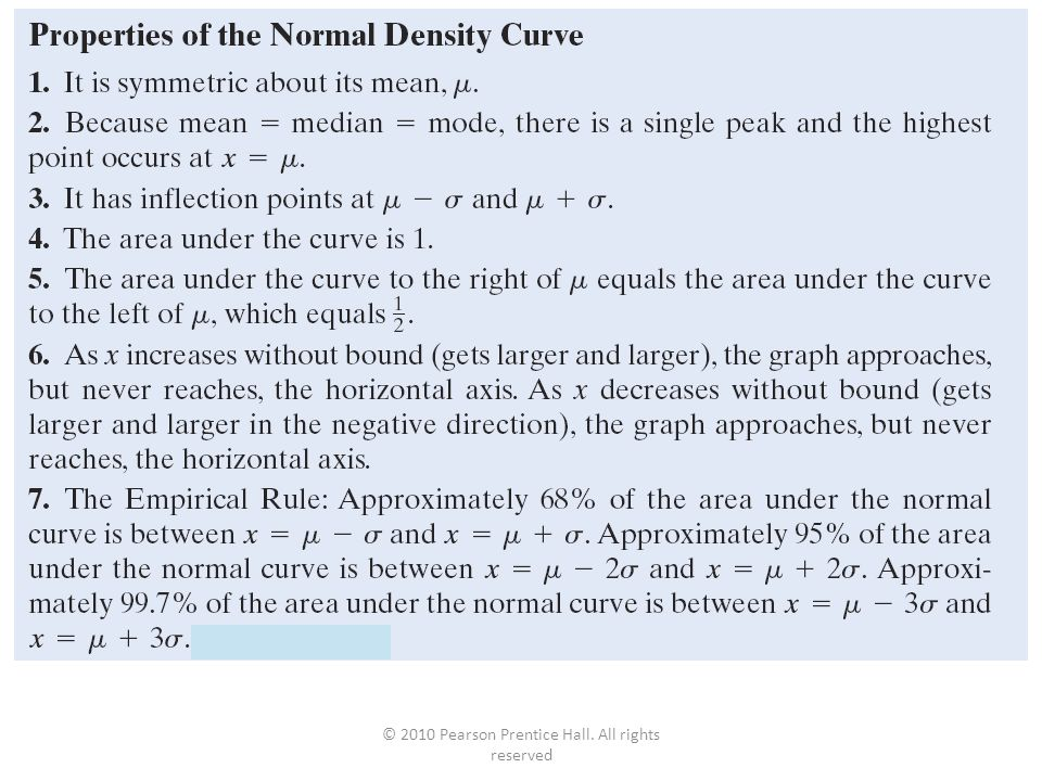 © 2010 Pearson Prentice Hall. All rights reserved 7-5