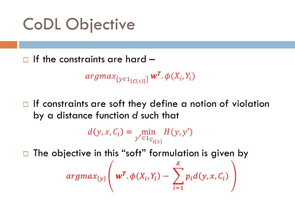 CoDL Objective