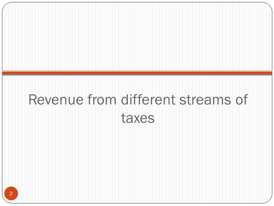 Basic Elements of Taxation Levy – Will define the event upon which the duty/tax gets attracted Assessment – Quantification of the levy attracted Collection – The mechanism by which the Governments would collect the assessed tax 13