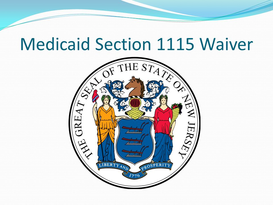 Medicaid Section 1115 Waiver