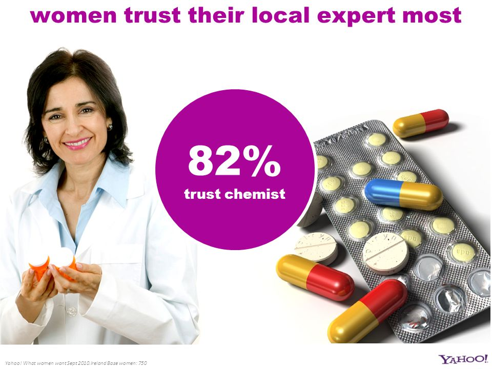women trust their local expert most Yahoo.