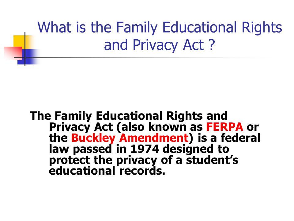 Additional sources of information Office of the Registrar http://www.jmu.edu/registrar JMU Policy 2112 http://www.jmu.edu/JMUpolicy/2112.shtml Family Policy Compliance Office, Department of Education http://www.ed.gov/policy/gen/guid/fpco/index.html http://www.ed.gov/policy/gen/reg/ferpa/index.html