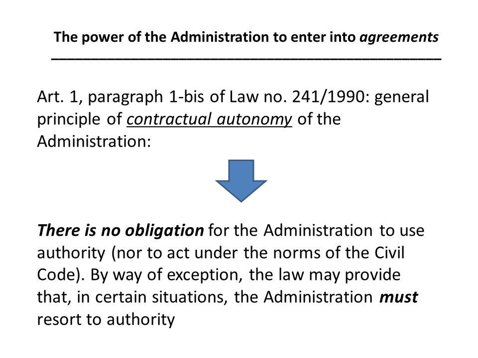Art. 1, paragraph 1-bis of Law no.