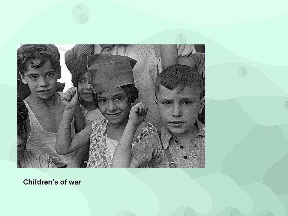 Children's of war
