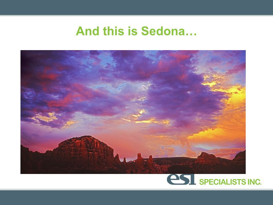And this is Sedona…