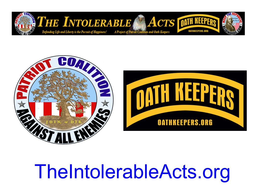 TheIntolerableActs.org