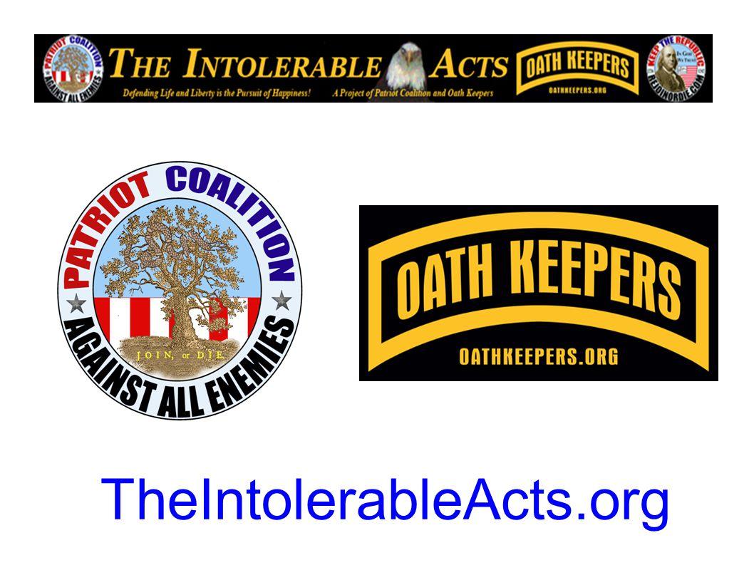 TheIntolerableActs.org