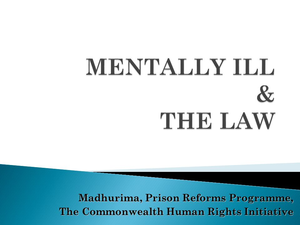 Section 328(1A) & 329(1A) If upon examination the accused is found to be of unsound mind, the court shall refer such a person to a psychiatrist or clinical psychologist for care, treatment and prognosis of the condition.