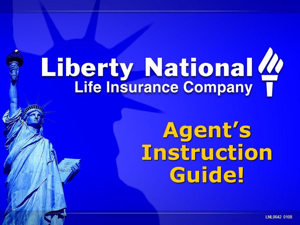 Agents Instruction Guide! Agents Instruction Guide! LNL0642 0108