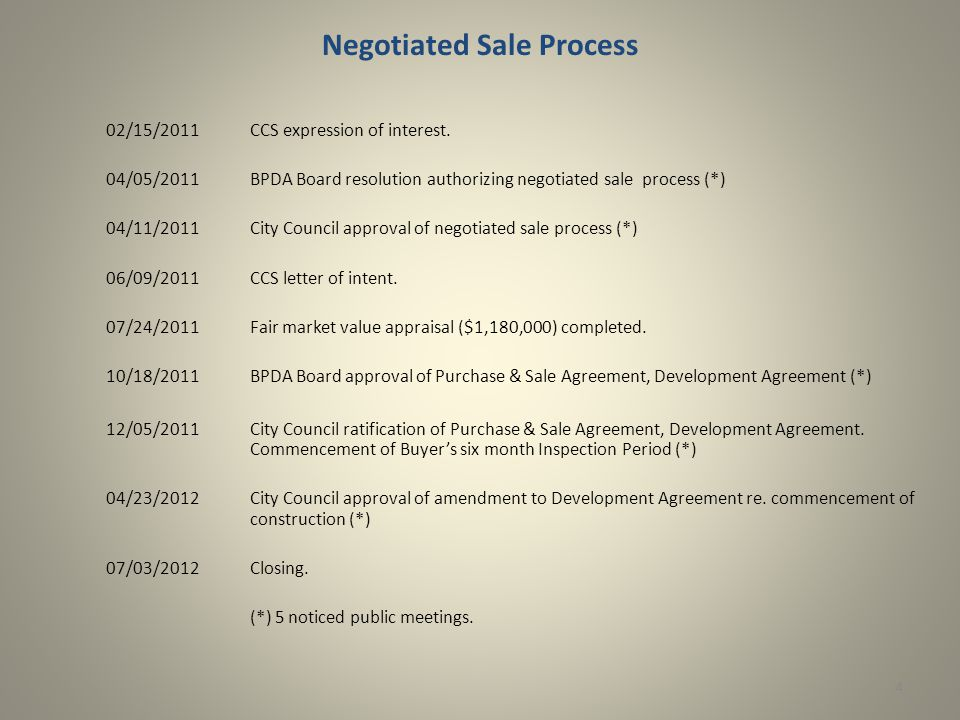 Negotiated Sale Process 02/15/2011CCS expression of interest.