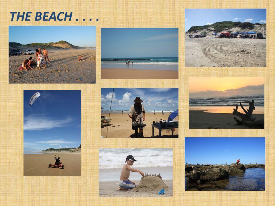 THE BEACH....