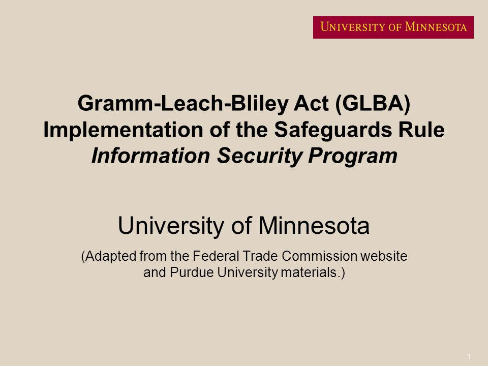 22 Roles and Responsibilities: Information Security Program Coordinator Maintain the primary Information Security Program document for the University.