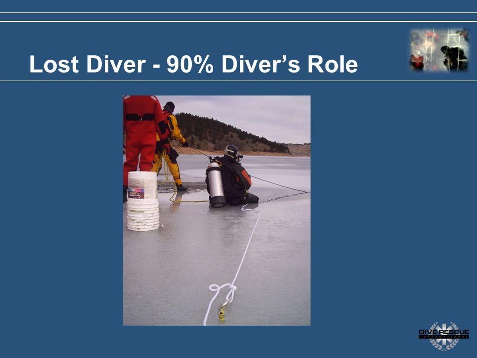 Lost Diver - 90% Divers Role