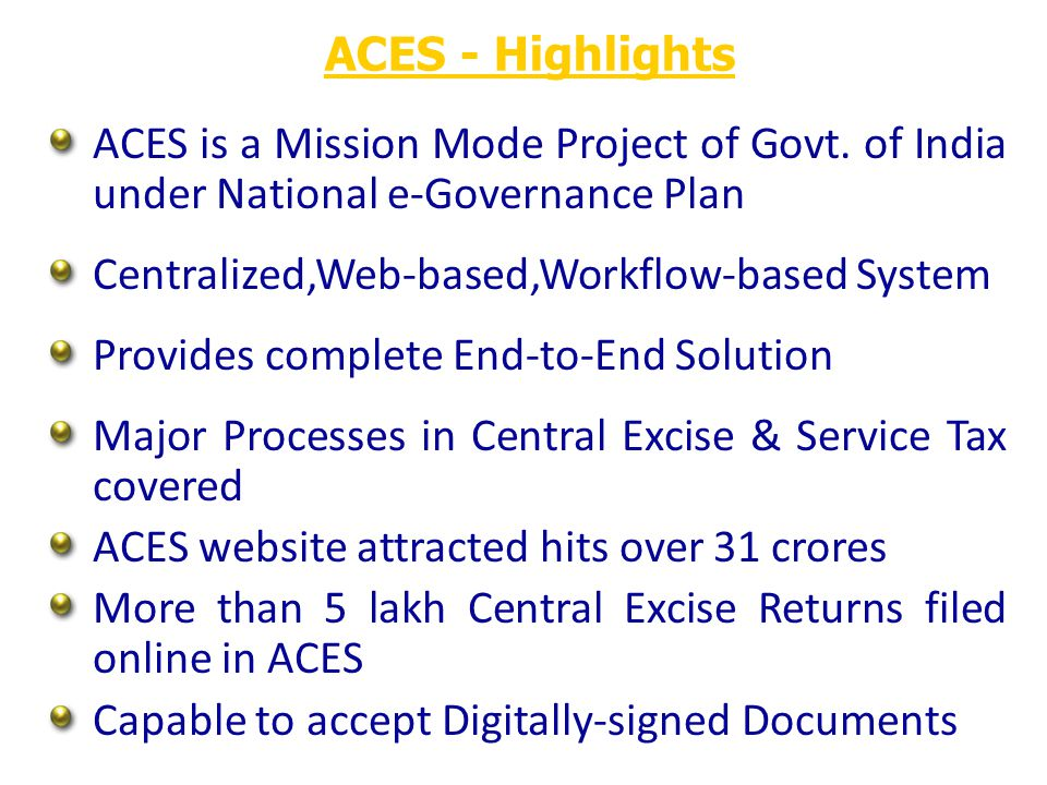 ACES – Home Page