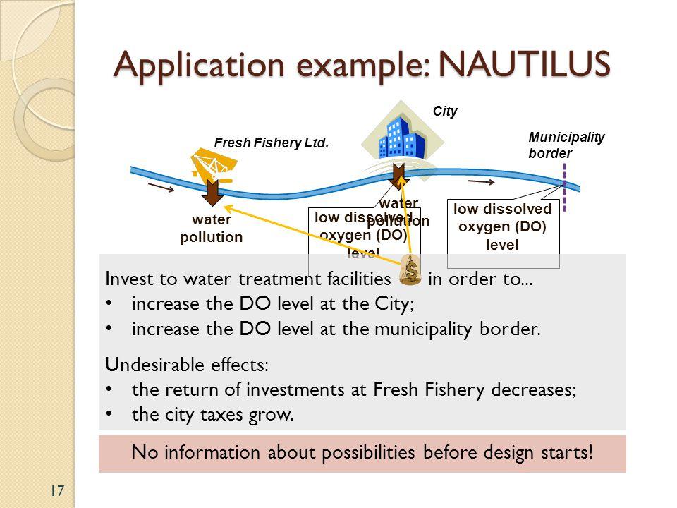 Application example: NAUTILUS 17 Fresh Fishery Ltd.