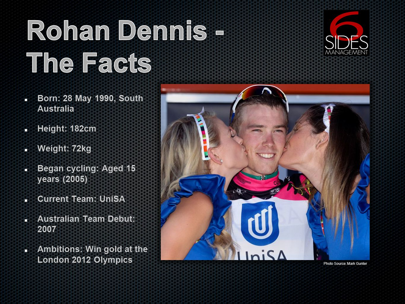 At 23 years of age, Rohan Dennis is one of Australian cyclings brightest and most determined young stars.