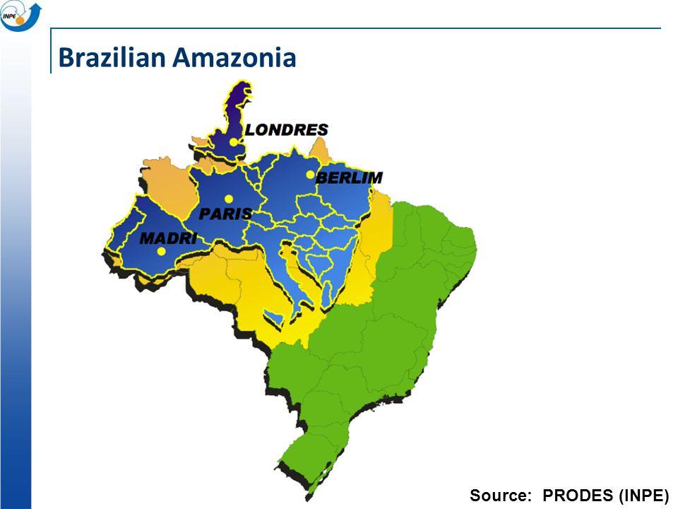 Brazilian Amazonia Source: PRODES (INPE)