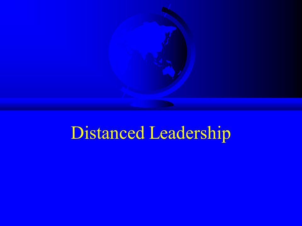 Distanced Leadership