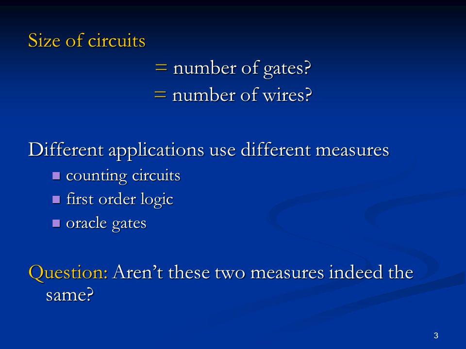 14 Circuit C n computing (ac* bc*)* x 1 x 2 x 3 … x 1 x 2 x 3 … a cc … .
