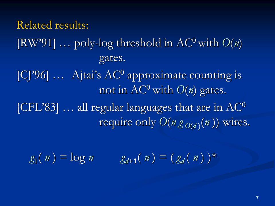 18 DA satisfies: (x y z ) y (x y z ) = (x y z ) (x y z ) y (x y z ) = (x y z ) … turtle languages … disj.