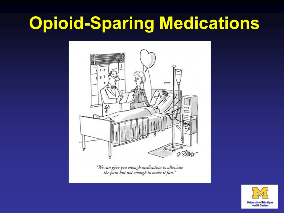 Opioid-Sparing Medications