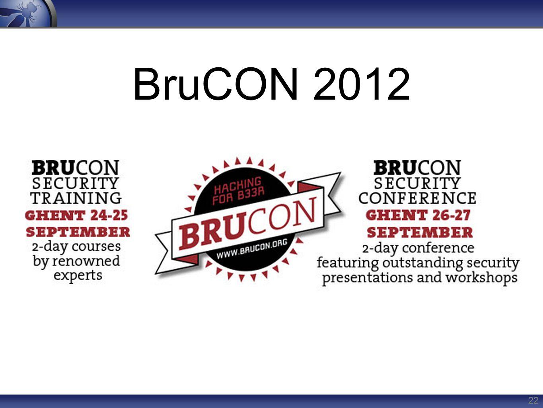 BruCON 2012 22