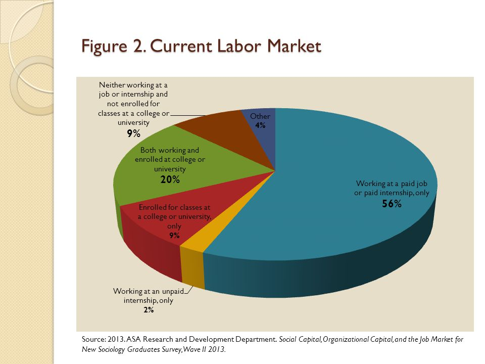 Figure 2. Current Labor Market Source: 2013. ASA Research and Development Department.