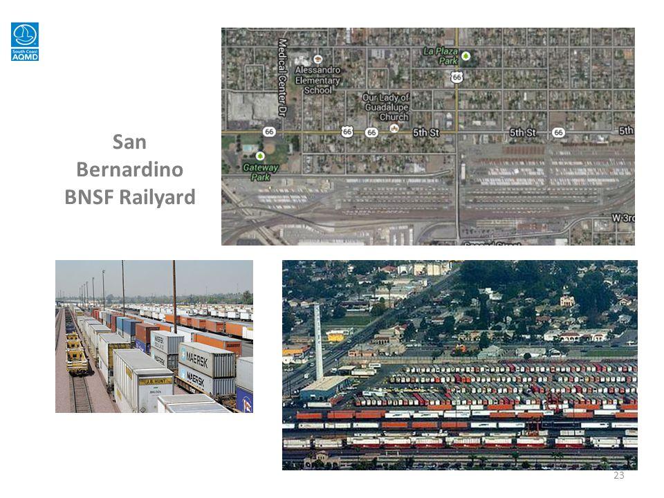 San Bernardino BNSF Railyard 23