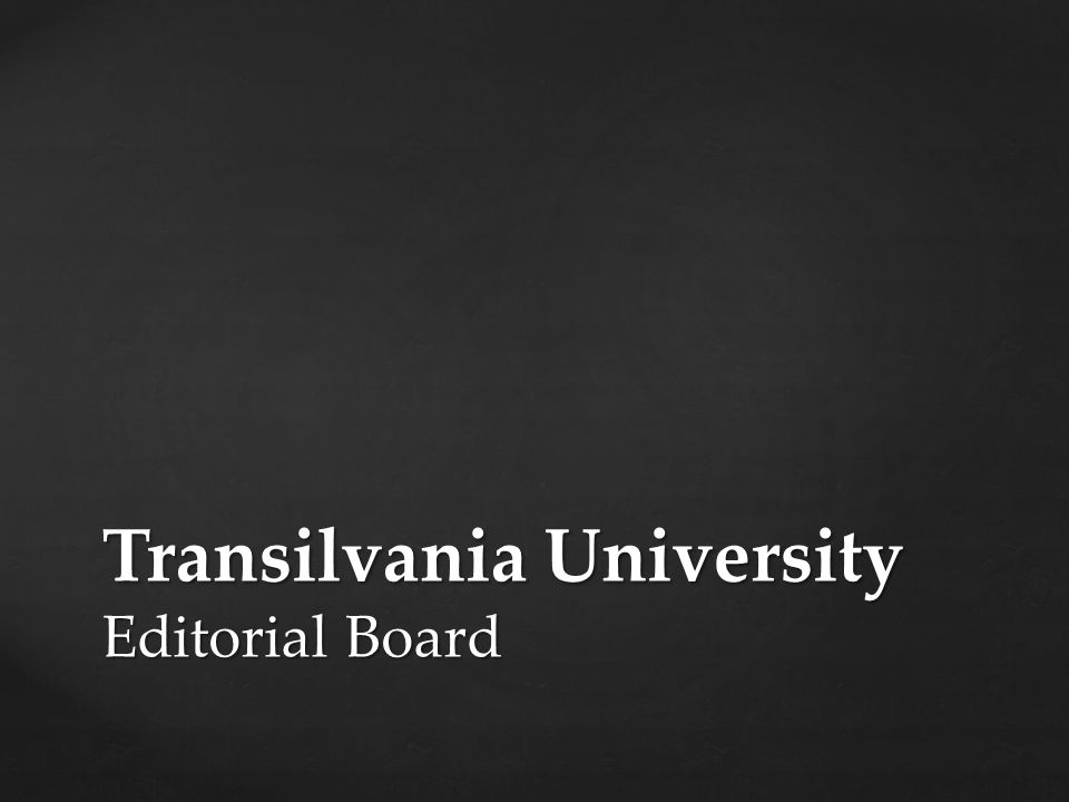 To prepare the final report of the 16 th EPMeeting, Braşov & Fagaras Organise the co-operation with other European schools and Universities Coordinate the publication of the issue 2/2012 (August)
