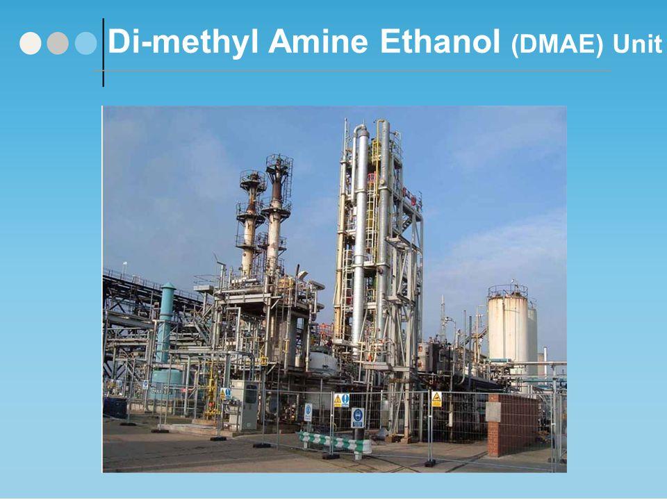 Di-methyl Amine Ethanol (DMAE) Unit