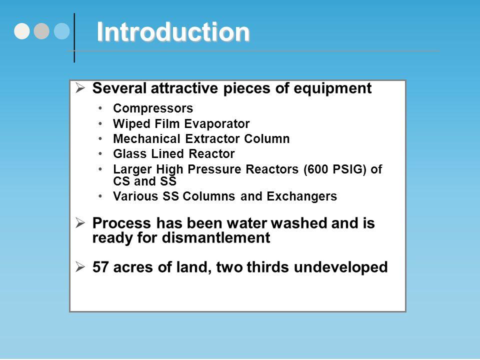 DMF Unit Process Flow