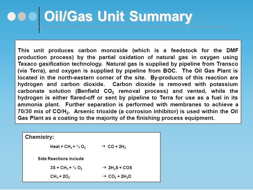 Oil/Gas Unit Process Flow