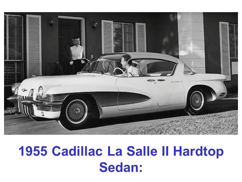 1955 Cadillac La Salle II Hardtop Sedan: