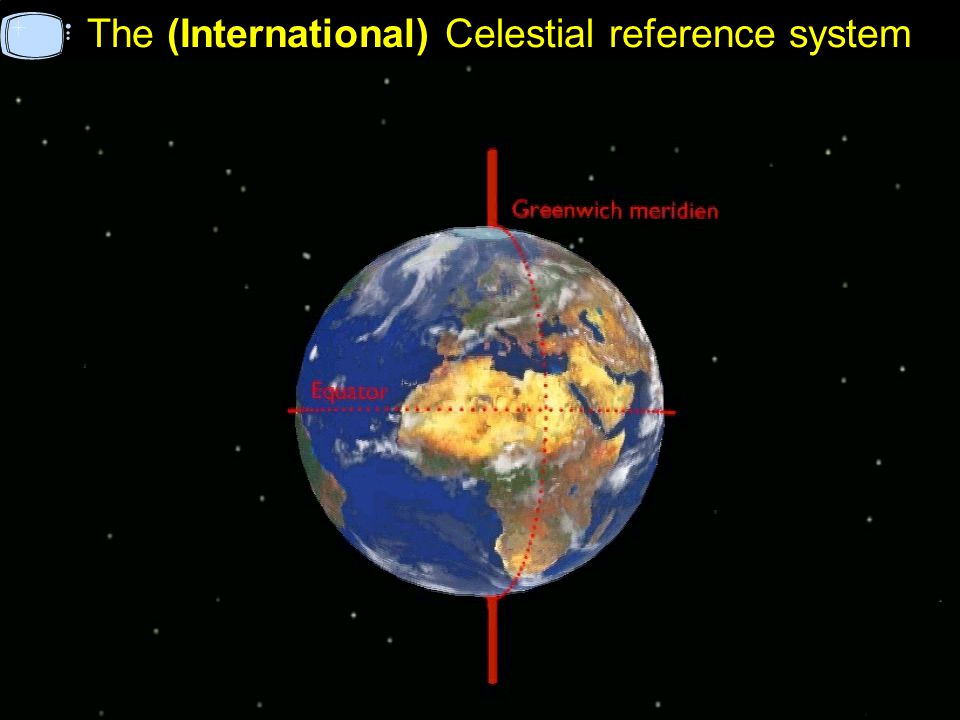 The (International) Celestial reference system
