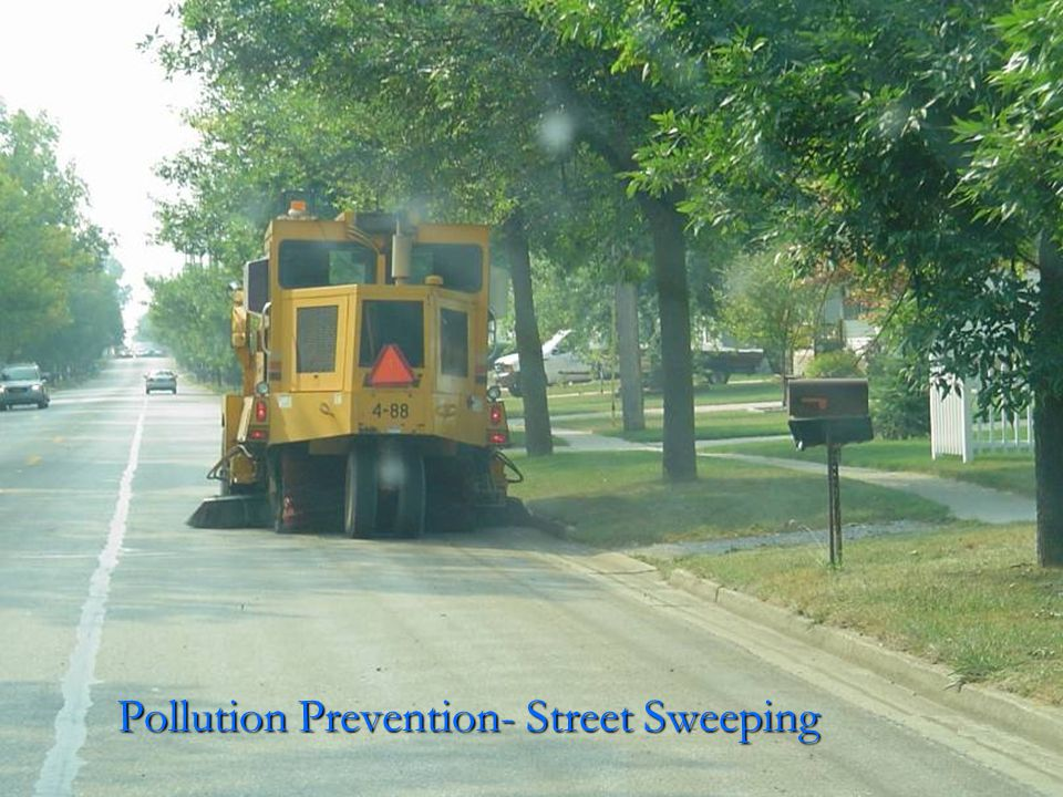 Pollution Prevention- Street Sweeping